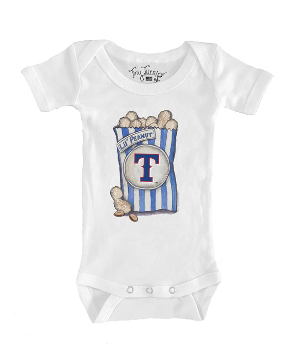 Texas Rangers Infant Lil' Peanut Short Sleeve Snapper