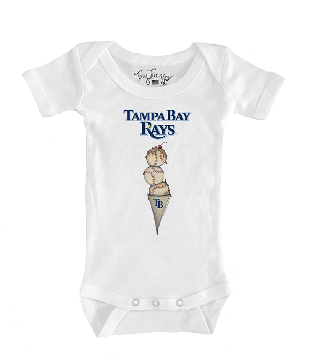 Tampa Bay Rays Infant Triple Scoop Short Sleeve Snapper