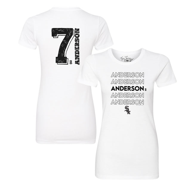 Chicago White Sox Tim Anderson Stacked Tee Shirt