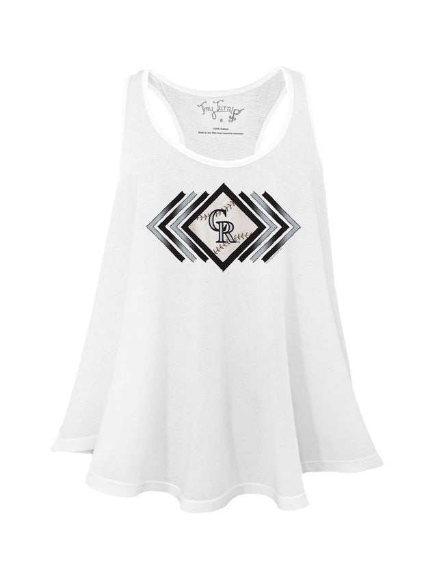 Colorado Rockies Women's Prism Arrows Aubri Tank