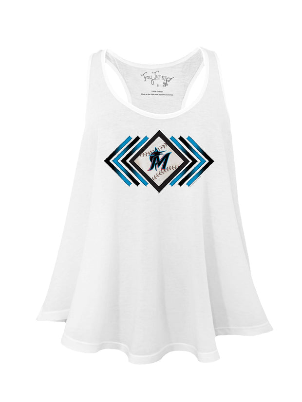 Miami Marlins Women's Prism Arrows Aubri Tank