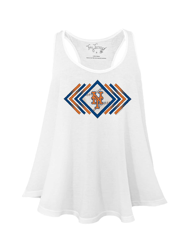New York Mets Women's Prism Arrows Aubri Tank