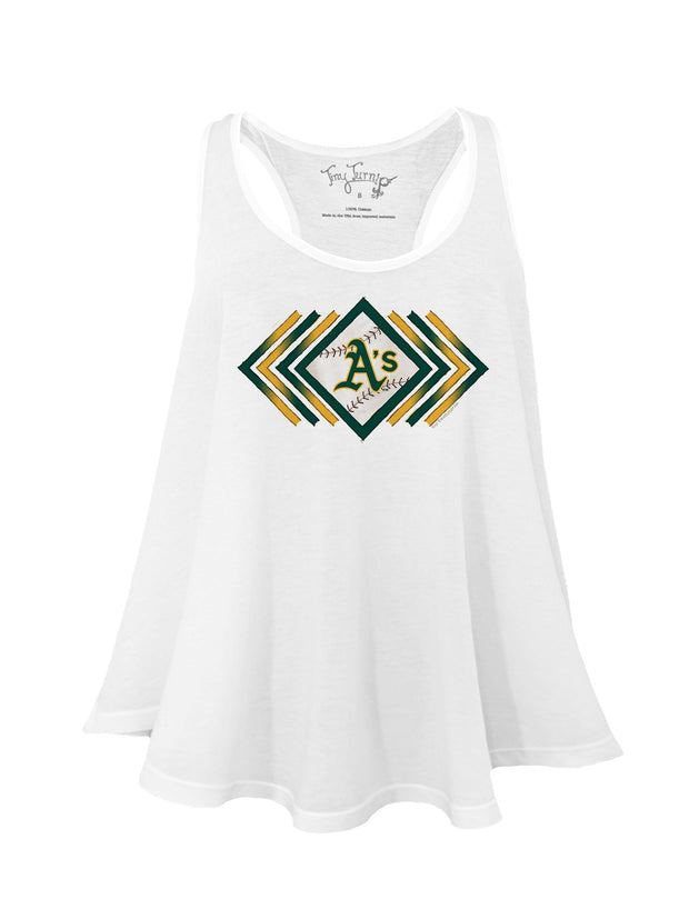 Oakland Athletics Women's Prism Arrows Aubri Tank