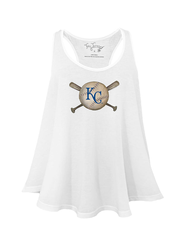 Kansas City Royals Women's Baseball Crossbats Aubri Tank