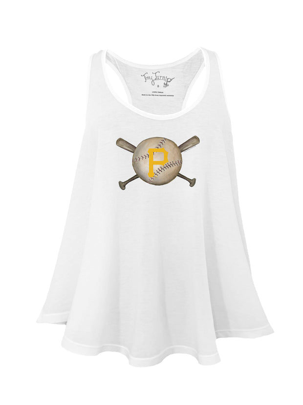 Pittsburgh Pirates Women's Baseball Crossbats Aubri Tank
