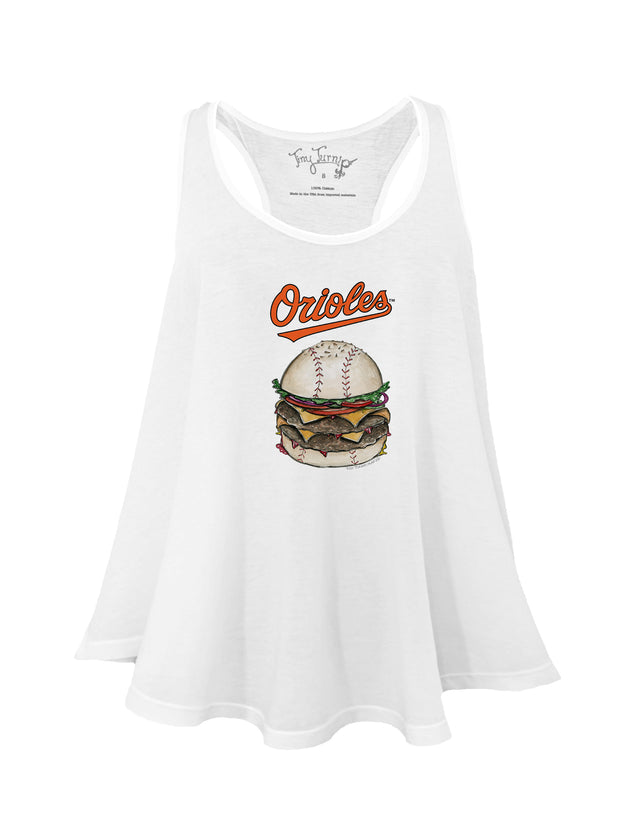 Baltimore Orioles Women's Burger Aubri Tank