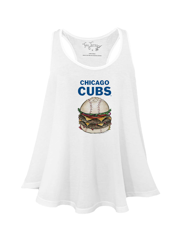 Chicago Cubs Women's Burger Aubri Tank