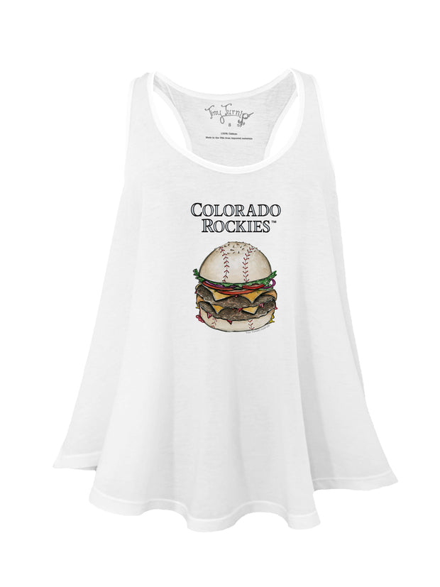 Colorado Rockies Women's Burger Aubri Tank