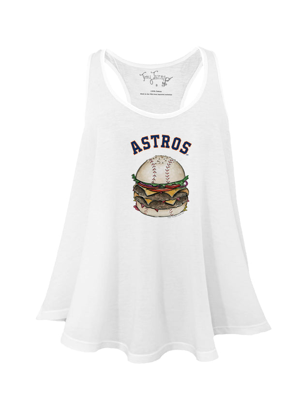 Houston Astros Women's Burger Aubri Tank