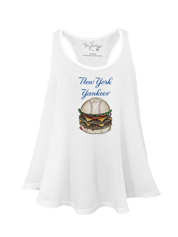 New York Yankees Women's Burger Aubri Tank