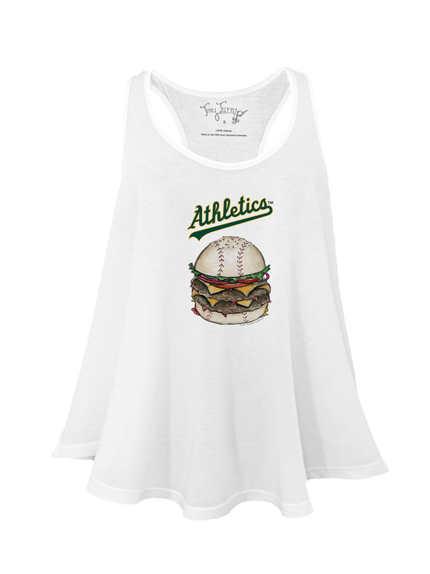 Oakland Athletics Women's Burger Aubri Tank