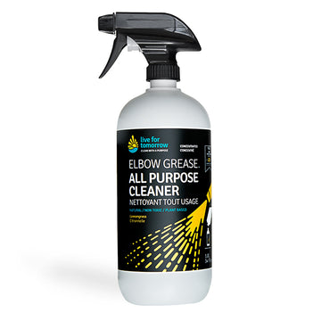 Spray bottle of natural non-toxic eco-friendly septic safe all purpose cleaner featured in the Clean Crate's Add-on Shop to add to subscription