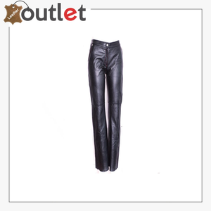 Womens Genuine Leather Pants