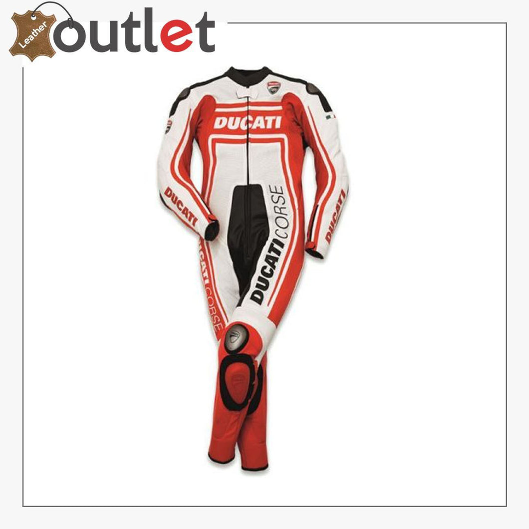 Ducati Corse C2 Motogp One-Pice Real Leather Suit