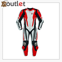 Load image into Gallery viewer, Ducati Corse K1 Men's Racing Genuine Leather Suit