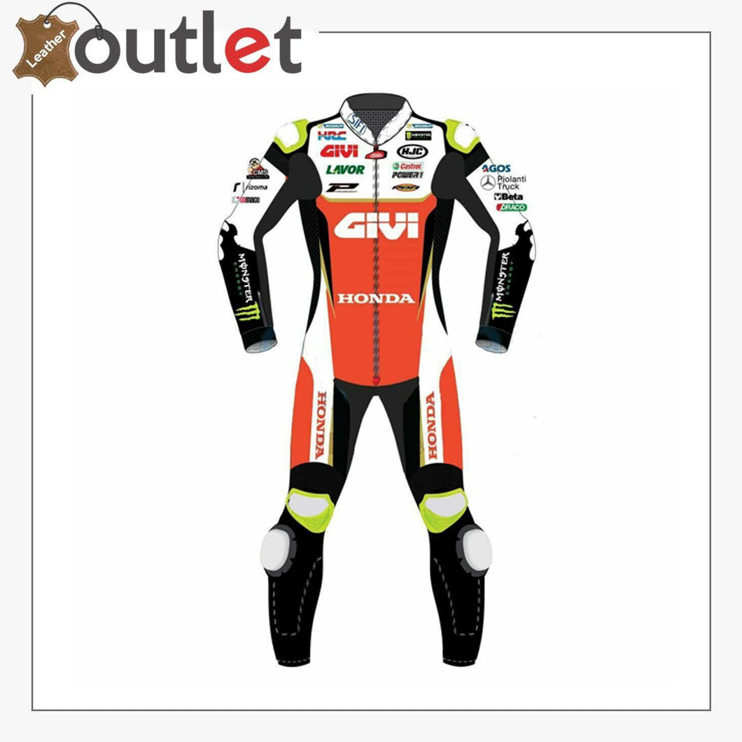 Honda Motorbike Leather Racing Suit Design 2019