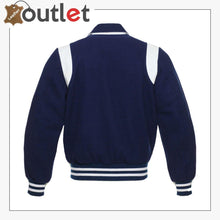 Load image into Gallery viewer, Side Stripe Varsity Jacket