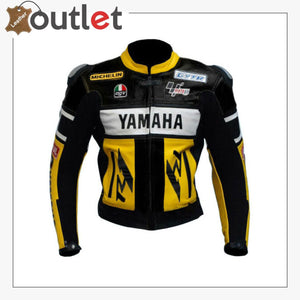 High Quality Suzuki Motorbike Leather Jacket