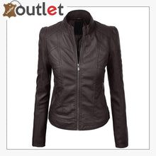 Load image into Gallery viewer, 2020 New Styles Leather Fashion Jacket For Women