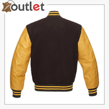 Load image into Gallery viewer, Maroon & Gold Varsity Jacket