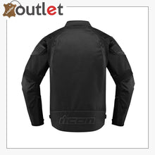 Load image into Gallery viewer, Icon Automag 2 Stealth Motorbike Leather Jacket