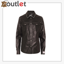 Load image into Gallery viewer, Leather shirt