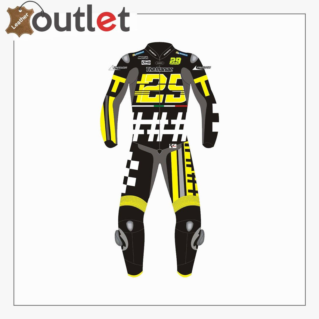Andrea Iannone Jerez Test 2018 Motorbike Leather Suit - Leather Outlet