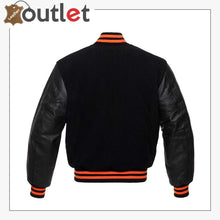 Load image into Gallery viewer, Baseball Jacket Varsity Letterman Jackets Genuine Leather