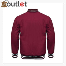 Load image into Gallery viewer, Baseball Styles Varsity Leather Jacket For Men