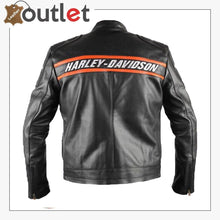Load image into Gallery viewer, Bill Goldberg wwe Harley Davidson Classic Motorcycle Leather Jacket