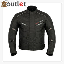 Load image into Gallery viewer, Black 6 Packs Design Motorcycle Jacket