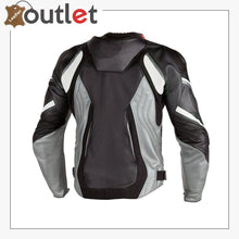 Load image into Gallery viewer, Black Super Speed D1 Perforated Motorcycle Leather Jacket