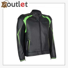 Load image into Gallery viewer, Kawasaki Highline Tourer Leather Jacket