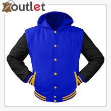 Load image into Gallery viewer, College Baseball Leather Varsity Women Jacket