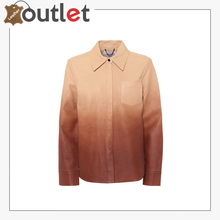 Load image into Gallery viewer, Dégradé leather shirt