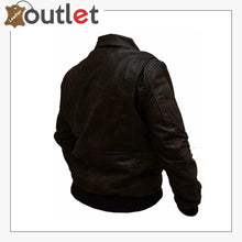 Load image into Gallery viewer, Distressed Brown Handmade Leather Jacket For Men