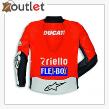 Load image into Gallery viewer, Ducati Corse Alpinestars Team 18 Leather MotoGP Jacket
