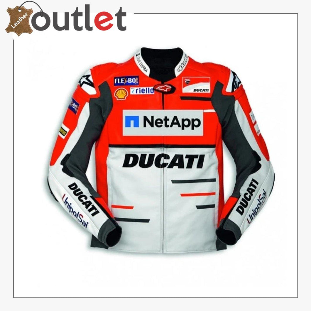 Ducati Corse Alpinestars Team 18 Leather MotoGP Jacket