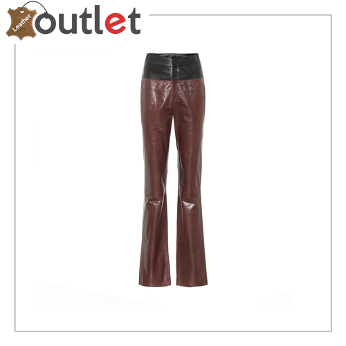 LET'S STAY TOGETHER LEATHER LACE UP PANTS