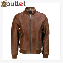 Load image into Gallery viewer, Genuine Leather Pilot Fashion Biker Style Jacket
