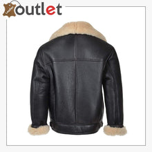 Load image into Gallery viewer, Genuine Sheepskin B3 Leather Bomber Jacket for Men
