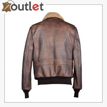 Load image into Gallery viewer, Golden Shiny Leather Bomber Jacket Mens
