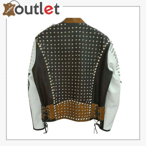 Handmade Real Leather Studded jacketHandmade Real Leather Studded jacket