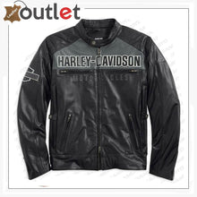 Load image into Gallery viewer, Harley Davidson Horizon HB Leather Jacket