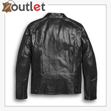 Load image into Gallery viewer, Harley-Davidson Men's Arterial Leather Riding Jacket