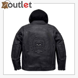 Harley-Davidson Men's Aurora Willie G Skull 3-in-1 Jacket