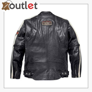 Harley-Davidson Men's Command Mid-Weight Leather Jacket