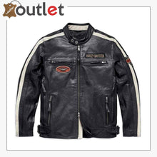 Load image into Gallery viewer, Harley-Davidson Men's Command Mid-Weight Leather Jacket