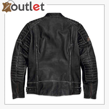 Load image into Gallery viewer, Harley-Davidson Men's Screamin' Eagle Leather Jacket