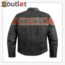 Load image into Gallery viewer, Harley-Davidson Men's Victory Lane Leather Jacket